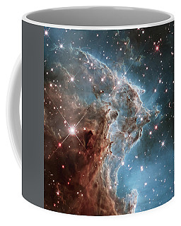 Coffee Mug featuring the photograph Monkey Head Nebula by Marco Oliveira