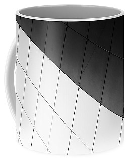 Monochrome Building Abstract 3 Coffee Mug