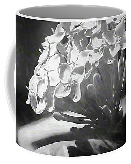 Monochrome Flora Coffee Mug