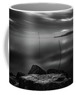 Monochrome Lake Coffee Mug