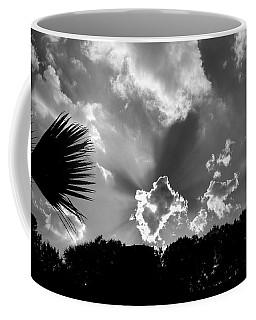 Monochrome Sunburst Coffee Mug by Eric Liller