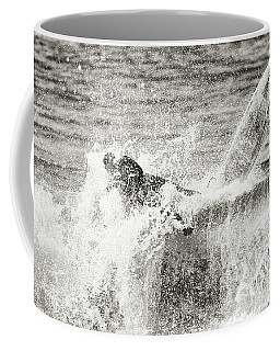 Monochrome Wipeout Coffee Mug