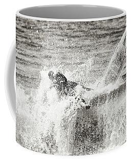 Monochrome Wipeout Coffee Mug