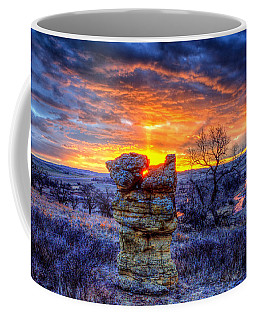 Monolithic Sunrise Coffee Mug