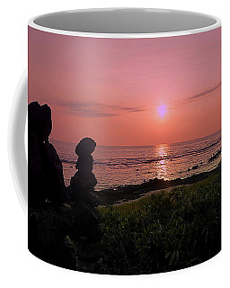 Monoliths At Sunset Coffee Mug