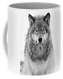 Monotone Timber Wolf  Coffee Mug