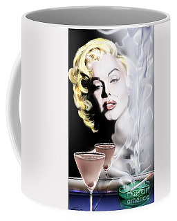 Monroe-seeing Beyond Smoke-n-mirrors Coffee Mug