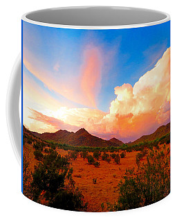 Monsoon Storm Sunset Coffee Mug