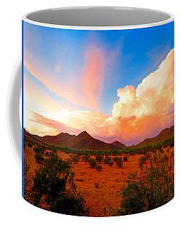 Monsoon Storm Sunset Coffee Mug