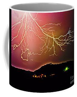 Monster Lightning By Michael Tidwell Coffee Mug