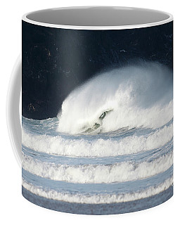 Coffee Mug featuring the photograph Monster Wave by Nicholas Burningham