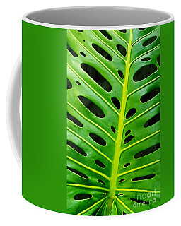 Monstera Leaf Coffee Mug by Carlos Caetano