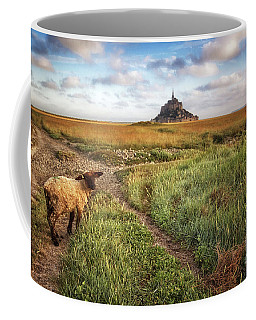 Mont Saint Michel's Sheep Coffee Mug