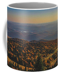 Mont Tremblant Summit Panorama Coffee Mug