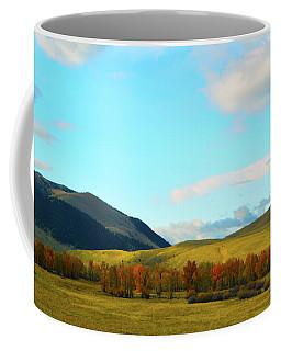 Montana Fall Trees Coffee Mug