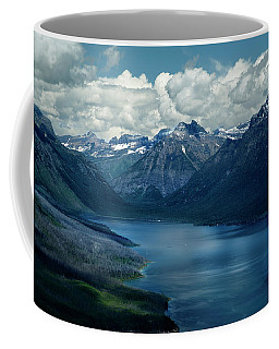Montana Mountain Vista And Lake Coffee Mug