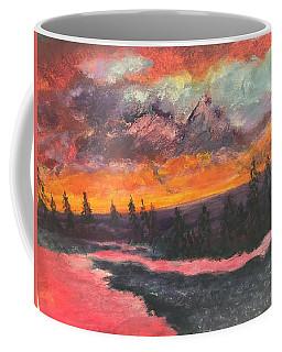 Montana Sunset Coffee Mug