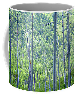 Montana Trees Coffee Mug