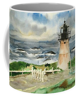 Montara Lighthouse, Plein Air Coffee Mug