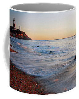 Montauk Dawn Coffee Mug by James Kirkikis