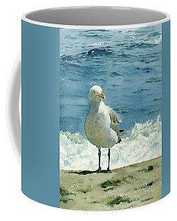 Montauk Gull Coffee Mug