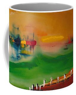 Montauk Marina Coffee Mug