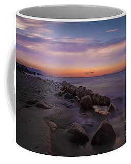 Montauk Sunset Boulders Coffee Mug