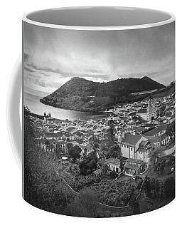 Coffee Mug featuring the photograph Monte Brasil And Angra Do Heroismo, Terceira Island, Azores by Kelly Hazel