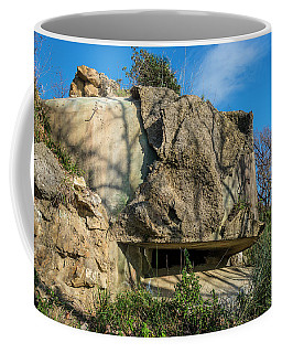 Coffee Mug featuring the photograph Monte Moro Bunkers - Bunkers Monte Moro by Enrico Pelos