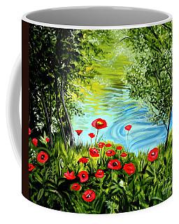 Monte Rio Poppies Coffee Mug