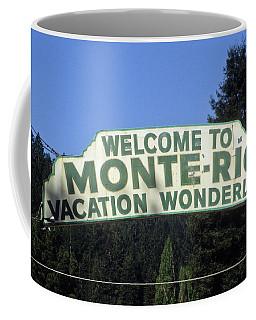 Monte Rio Sign Coffee Mug