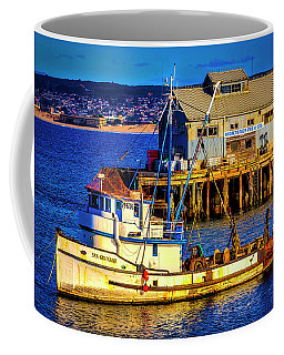 Monterey Bay Fishing Boat Coffee Mug