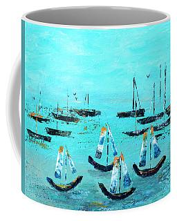 Monterey Boats Coffee Mug