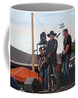 Coffee Mug featuring the photograph Montgomery Gentry by Aaron Martens