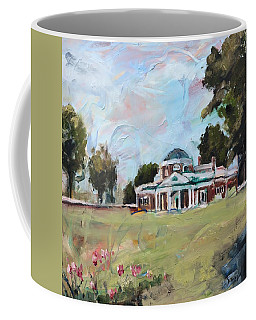 Monticello Charlottesville Virginia Coffee Mug