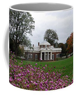 Coffee Mug featuring the photograph Monticello by Eric Liller
