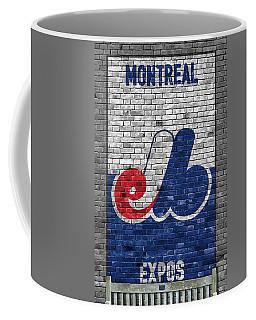 Montreal Expos Brick Wall Coffee Mug