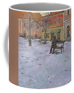 Monument Of Laza Costic In Sombor Coffee Mug