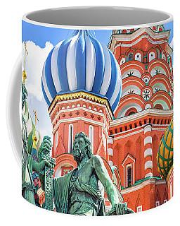 Monument To Minin And Pozharsky Coffee Mug