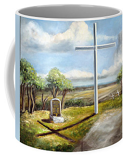 Monument To Tornado Victims Coffee Mug by Randy Burns