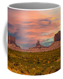 Monument Valley Landscape Vista Coffee Mug