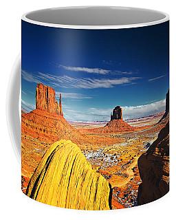 Monument Valley Mittens Utah Usa Coffee Mug