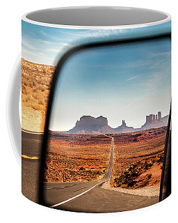 Monument Valley Rearview Mirror Coffee Mug