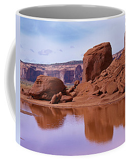 Monument Valley Reflection Coffee Mug