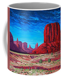 Monument Valley Storm Coffee Mug