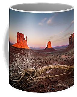 Monument Valley Sunset Coffee Mug