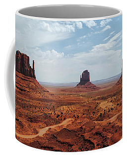Monument Valley - The Mittens Coffee Mug by Tricia Marchlik