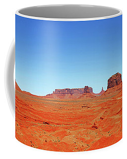 Coffee Mug featuring the photograph Monument Valley Two by Paul Mashburn