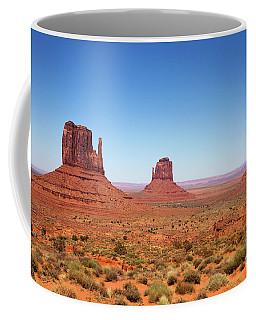 Monument Valley Utah The Mittens Coffee Mug