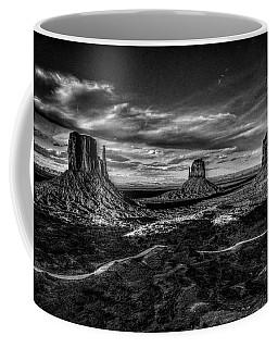 Monument Valley Views Bw Coffee Mug